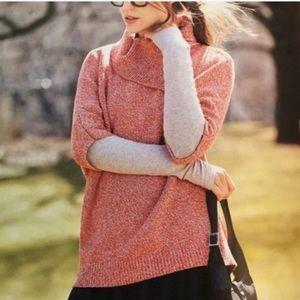 CAbi Foldover Split Neck Sweater xS